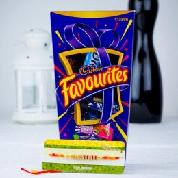 Love Bhaiya Rakhi with Cadbury Favourite