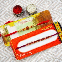 Lovely Brothers Two Rakhi Set