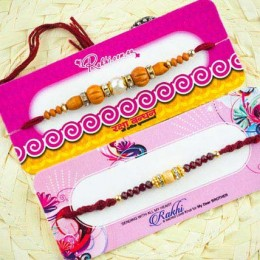 Bandhan Two Rakhi Set