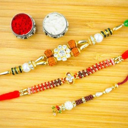 Bandhan Pyar ka Three Rakhi Set