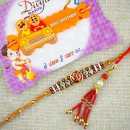 Bhaiya Bhabhi With Kids Rakhi Set