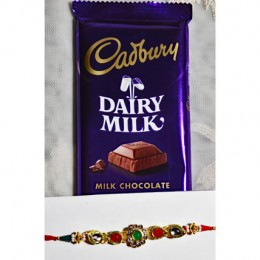 Cadbury Chocolate N Beads Rakhi