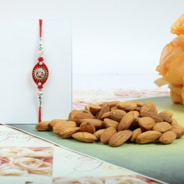 Ethnic Rakhi With Almond