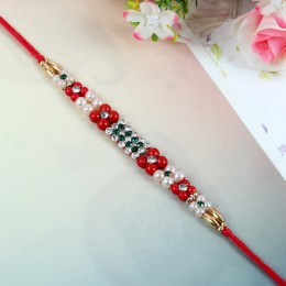 Colourful Floral Rakhi