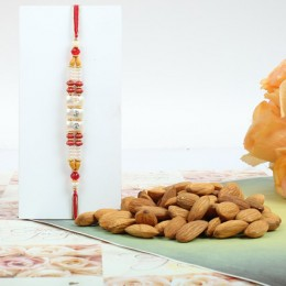 Colorful Rakhi With Almond