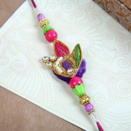 Colourful Zardozi Rakhi