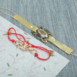 Antique N Bracelet Rakhi