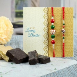 Rakhi N Chocolates Combo