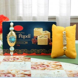 Rakhi Celebration With Soan Papdi