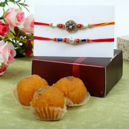 Diamond Rakhi Sweet Hamper