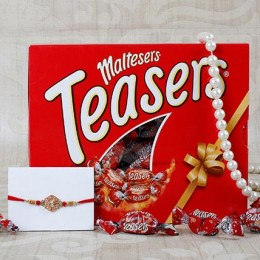 Aum Rakhi Maltesers Chocolate Hamper