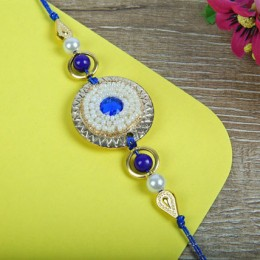 Blue Mothi Rakhi