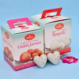 Sweets N Heart Candles