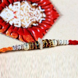 Colorful Thread Rakhi