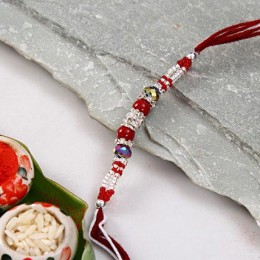 Beautiful Beads Rakhi