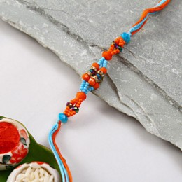 Bright Bead Rakhi