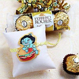 Cartoon Rakhi With Rocher