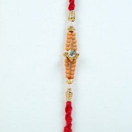 Beads N Crystal Rakhi