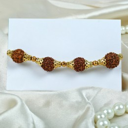 Beautiful Rudraksha Rakhi