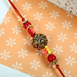 Beads Royal Rakhi