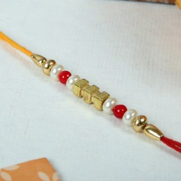 Beautiful Beaded Rakhi