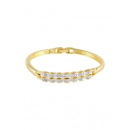 24 Ct Gold Plated Women Bracelet