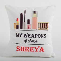 Personalized Cushion For Makeup Queen