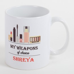 Personalized Mug For Makeup Queen
