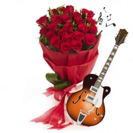 Note to the Heart-20 roses