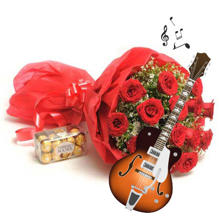 Melodious Expression of love-15 roses