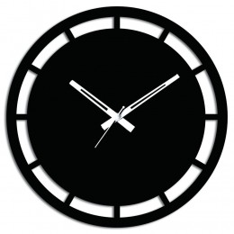 Interesting Black Wall Clock