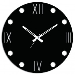 Cool Black Wall Clock
