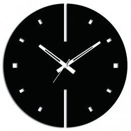 Attractive Black Wall Clock
