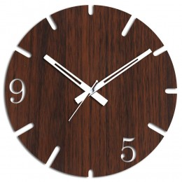 9 To 5 Brown Wall Clock