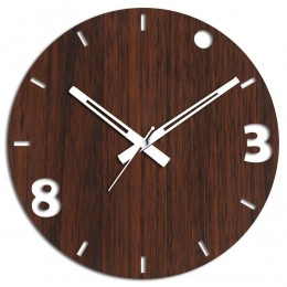 3 N 8 Brown Wall Clock
