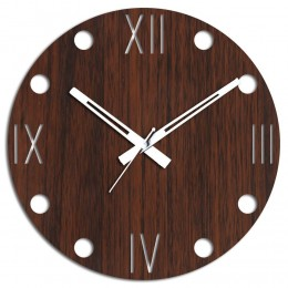 Cool Brown Wall Clock