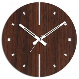 Attractive Brown Wall Clock