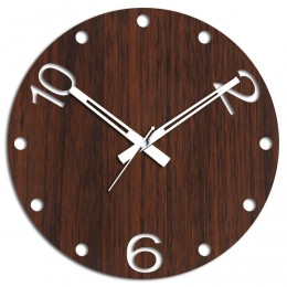 Brown Wall Clock For Home Decor