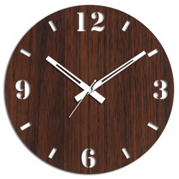 Living Room Brown Wall Clock
