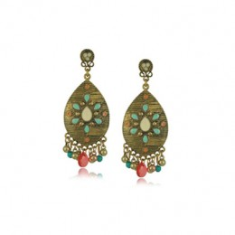 Antique Bronze Multicolor Earrings