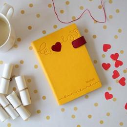 Doodle Heart Beat Personalized Diary