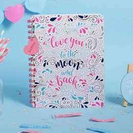 Doodle Head Over Heels Personalized Diary