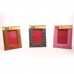 TARAgram Handmade Paper Photo Frame Set of 3