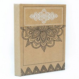 TARAgram Handmade Paper Decorated Etching Diary