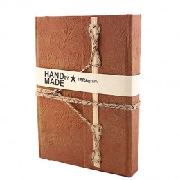 TARAgram Brown Colored Bamboo Stick Diary