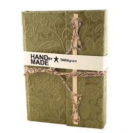 TARAgram Green Colored Bamboo Stick Diary