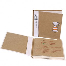 TARAgram Printed Notebook Cat Design