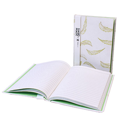 TARAgram Neem Leaves Impression Notebook