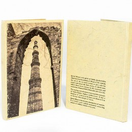 TARAgram Black N White Qutub Notebook