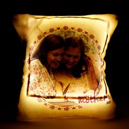 Personalized Cool Yellow LED Cushion